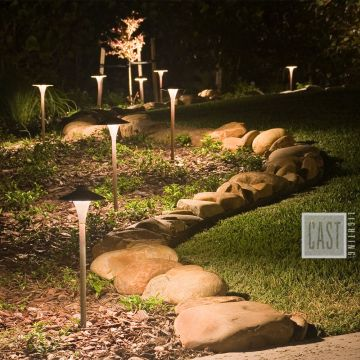 Path Lighting for Garden Areas