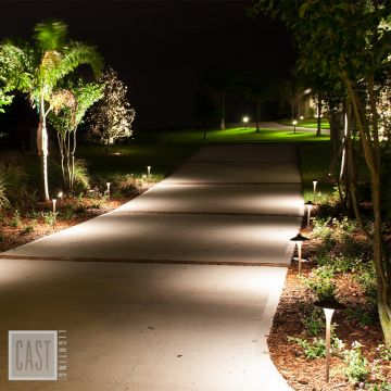 Path Lighting for Sidewalks