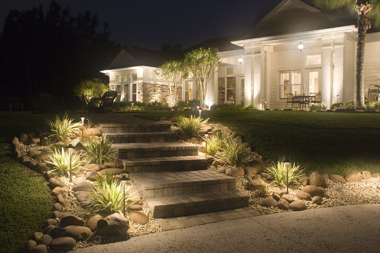 Beautiful Step Lighting for Your Home