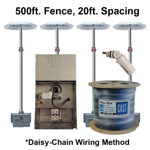 CPL3 Kit (500ft fence / 20ft spacing / 120V)