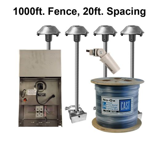 CPL2 Kit (1000ft fence, 20ft spacing)(120V/220-240V)