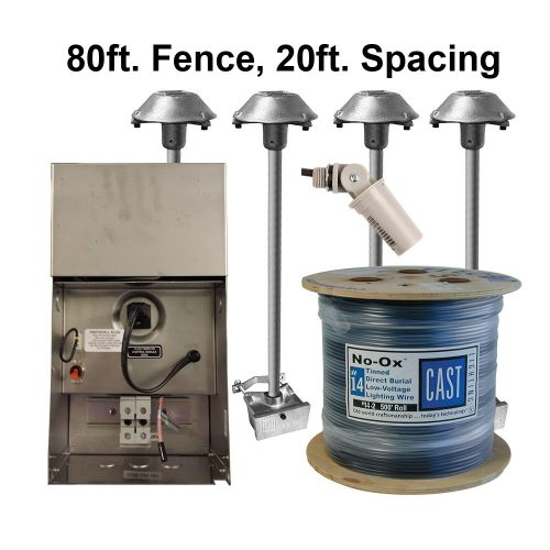 CPL2 Kit (80ft fence, 20ft spacing)(120V/220-240V)
